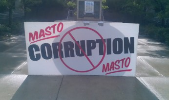 Nevada Attorney General Catherine Cortez Masto protest