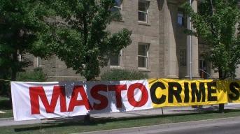 Nevada Attorney General Catherine Cortez Masto protest